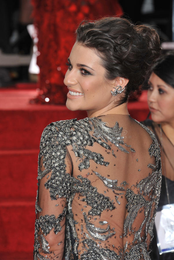 Lea Michele Editorial Stock Image