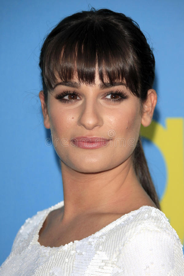 Download Lea Michele editorial stock photo. Image of academy, panel - 25284198