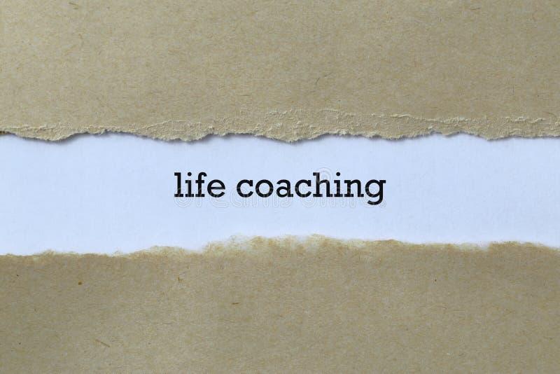 Life coaching royalty free stock image