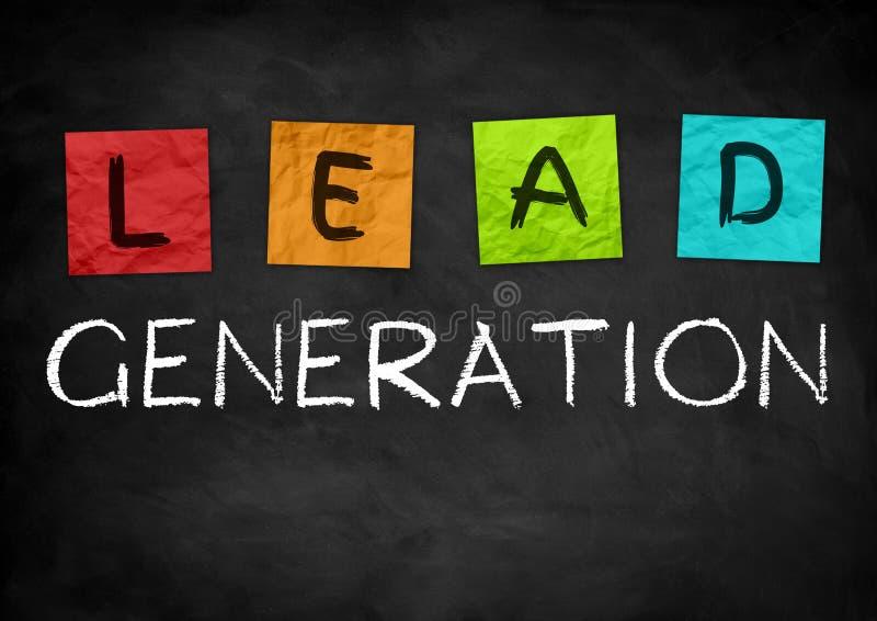 Lead Generation royalty free illustration
