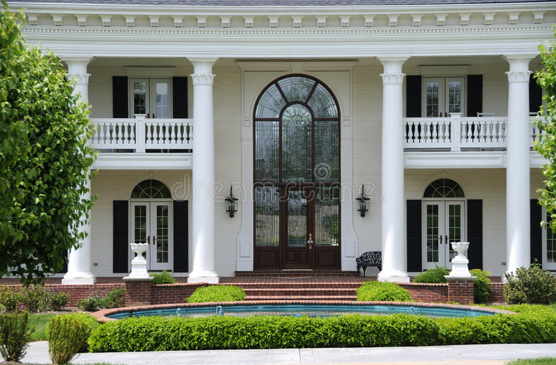 Download Leaded Glass Entry Door stock photo. Image of leaded, architecture - 5586490
