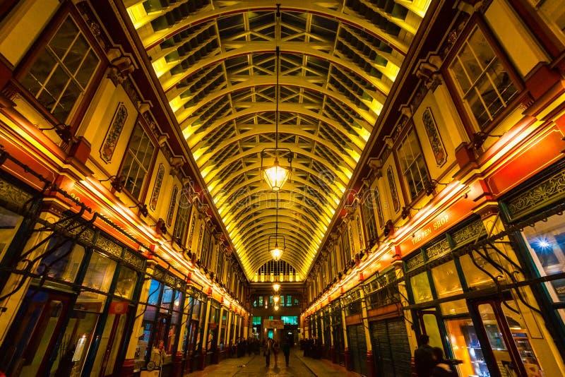 Leadenhall rynek, Londyn. obrazy stock