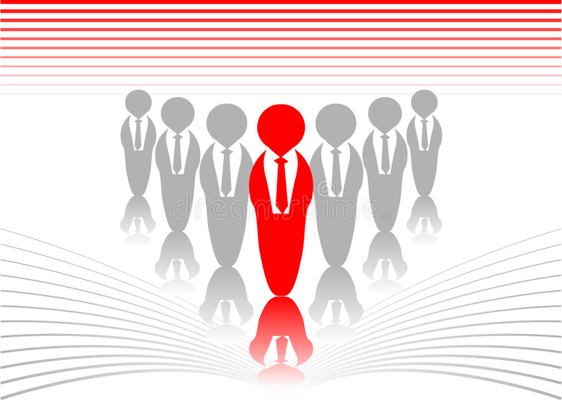 Download Leader stock vector. Illustration of strength, identity - 3603981