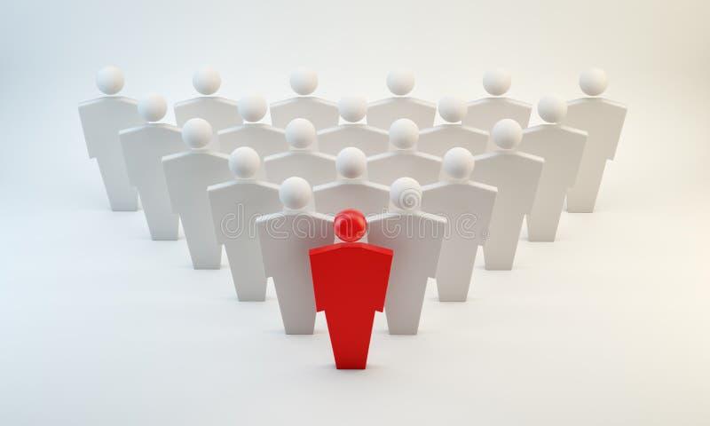 Leader Concept Stock Photo