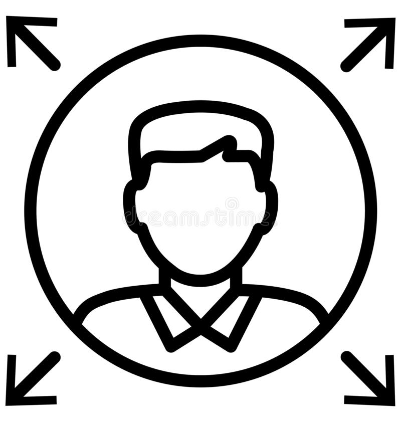 Leader Line Isolated Vector Icon That can be easily modified or edit vector illustration