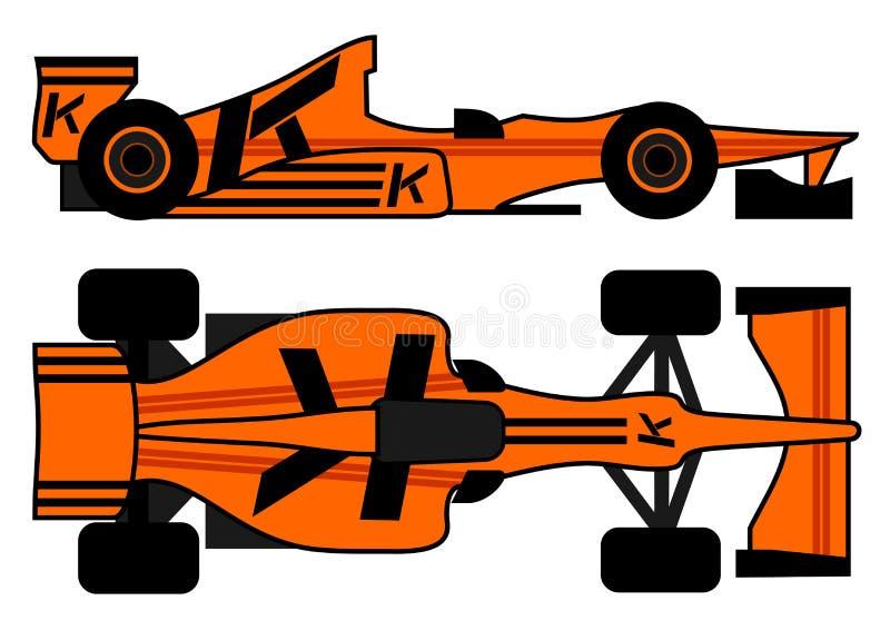 Leader racing car