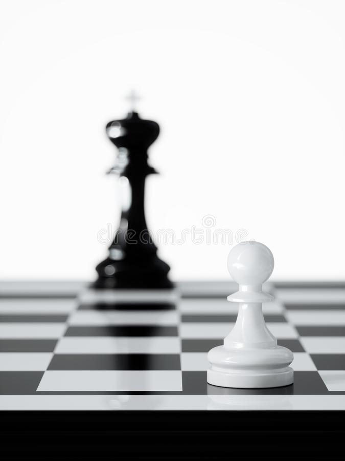 Chess business concept stock image