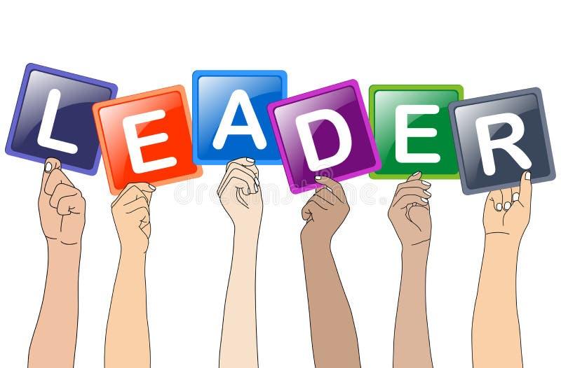 Leader stock illustration