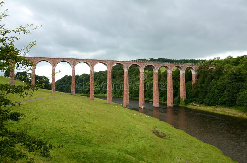 Leaderfoot Viaduct stockfotografie