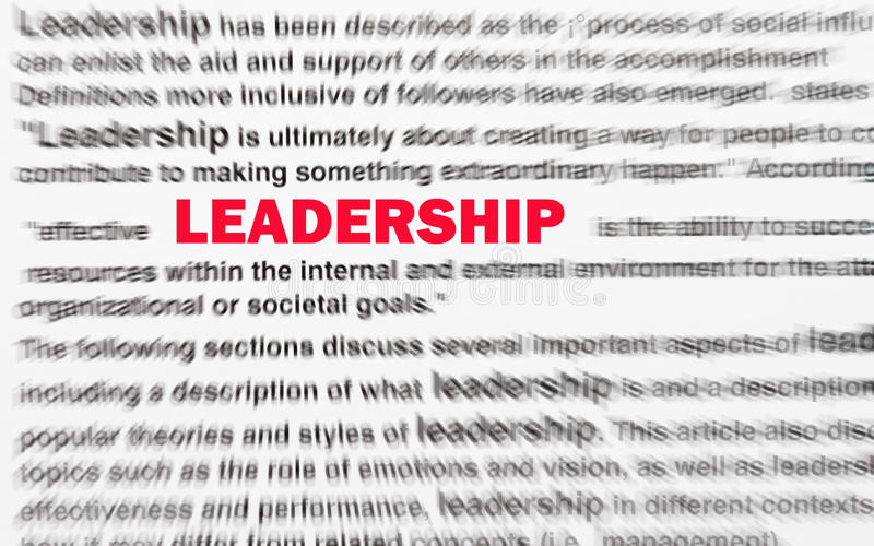 Download Leadership stock image. Image of prospects, blur, direct - 18687869