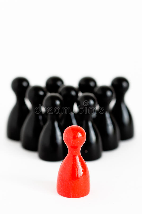 Download Leadership stock image. Image of silhouette, game, object - 19113911