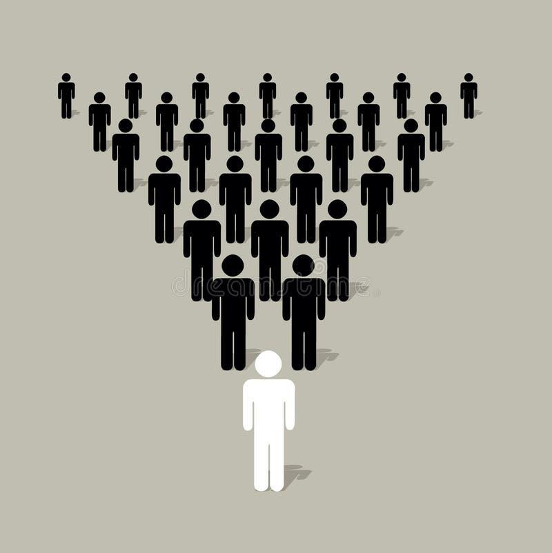 Leadership vector illustration