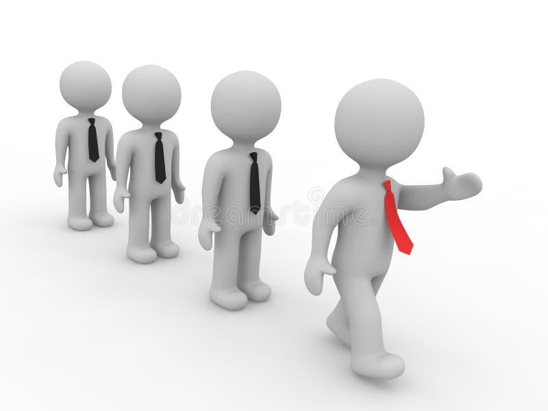 Download Leadership stock illustration. Image of responsibility - 25164697
