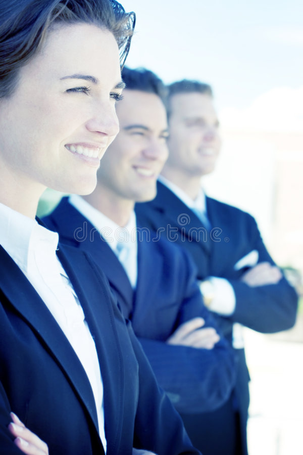 Leadership stock image