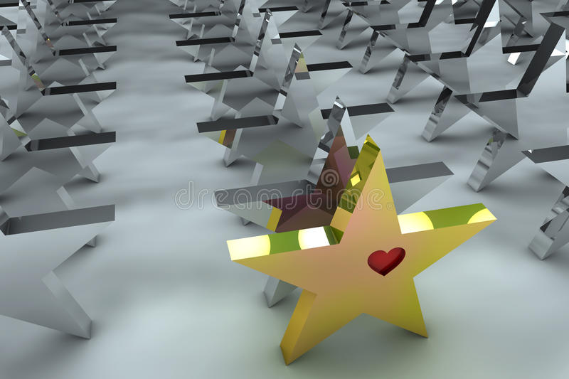 Download Leadership concept in 3d stock illustration. Image of success - 16145961