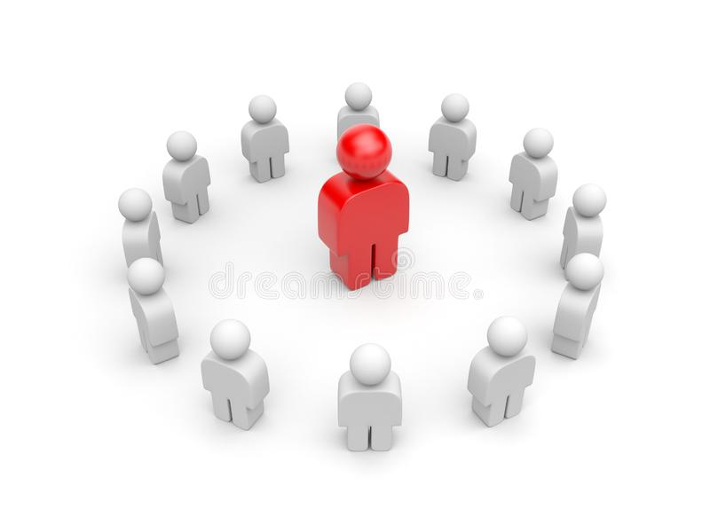 Leadership. Different concept royalty free stock images