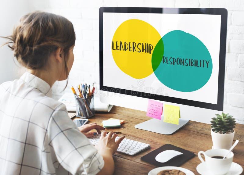 Leadership Goals Ideas Motivation Circles Concept royalty free stock photography