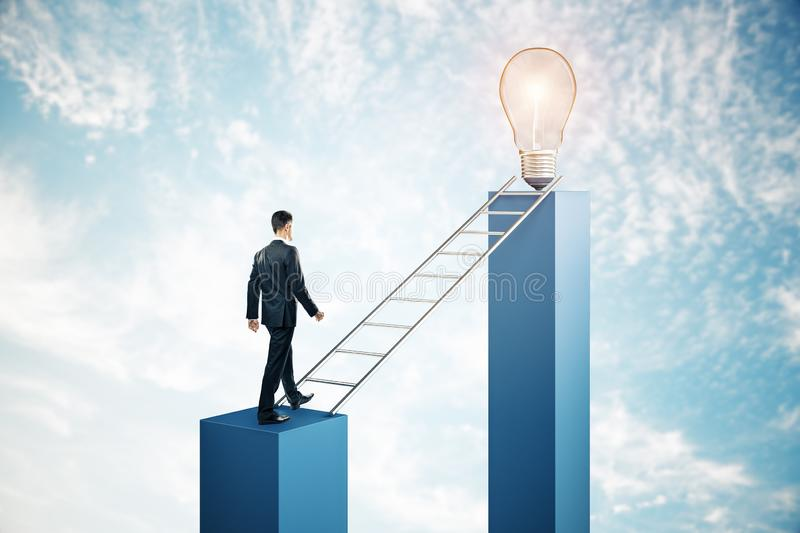 Leadership and idea concept royalty free stock image