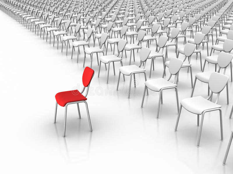 Download Leadership  -  Individuality Concept Stock Illustration - Image: 20469762
