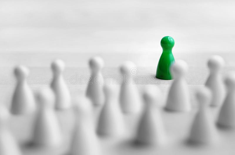 Leadership and management concept. royalty free stock images