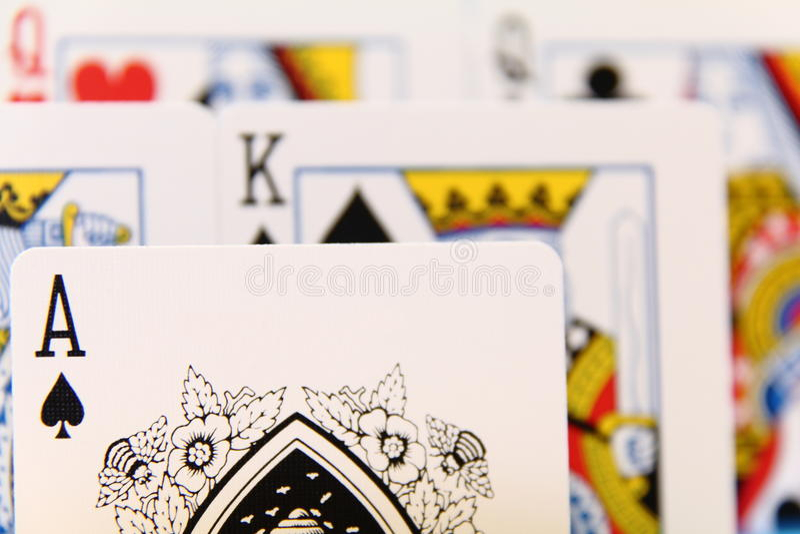 Leadership - Play Card II Stock Photography