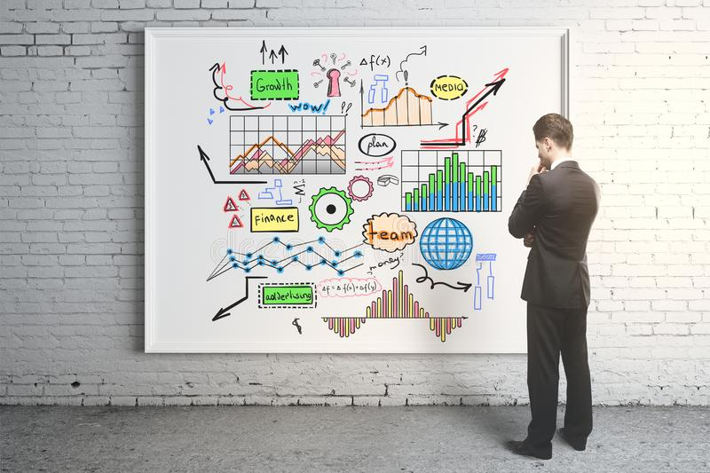 Leadership and success concept royalty free stock photo