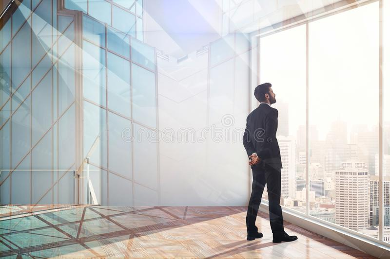 Leadership, success, research and future concept stock photos