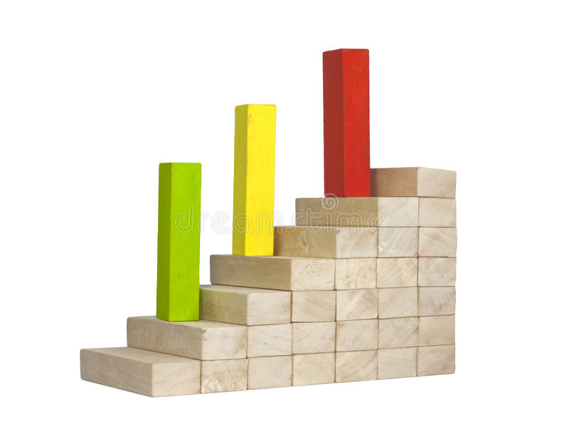 Leadership team growth career concept royalty free stock photos