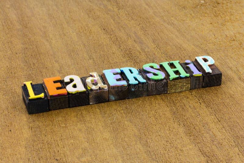 Leadership teamwork management supervision team leader career success stock photo