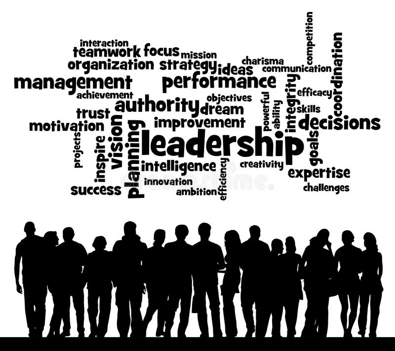 Leadership topics vector illustration