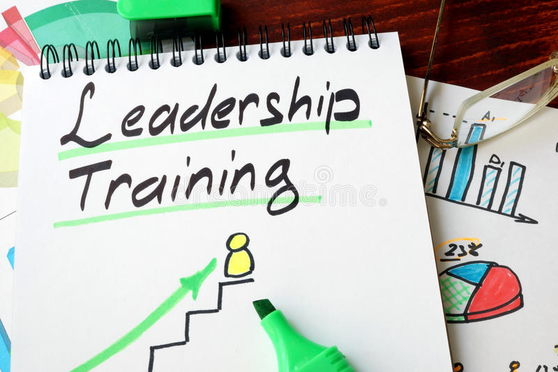 Leadership training royalty free stock images