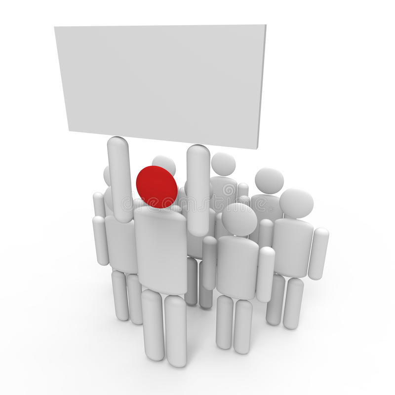 Download Leadership VII stock illustration. Image of communication - 28684721