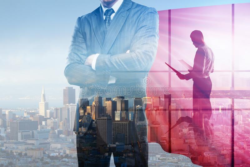 Leadership and work concept royalty free stock photography