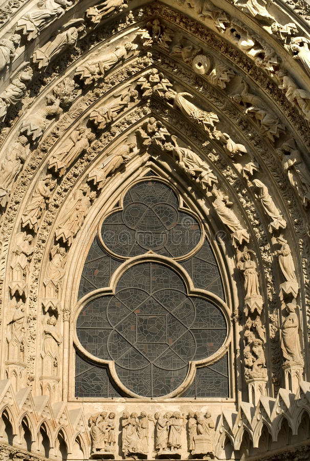 Download Leadlight Window, Reims Cathedral, Stock Image - Image: 18588343
