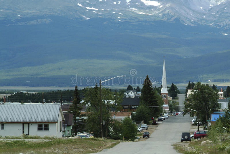 Download Leadville City Limits stock image. Image of mine, historic - 30754175