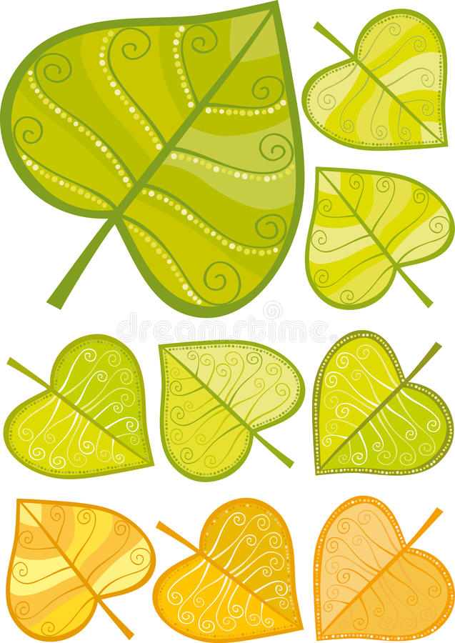 Download Leaf stock vector. Illustration of series, tree, growth - 24692853