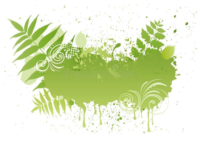leaf background royalty free illustration