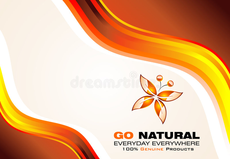 Leaf Buttefly Concept Card royalty free stock photo