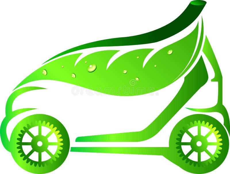 Leaf car stock illustration