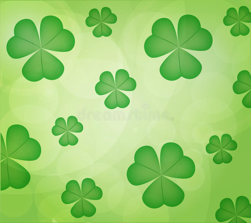 Free Leaf Clover Background Royalty Free Stock Photo - 29769825