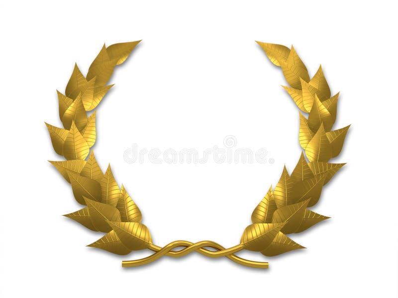 Download Leaf crest stock illustration. Image of ancient, mortice - 5406874