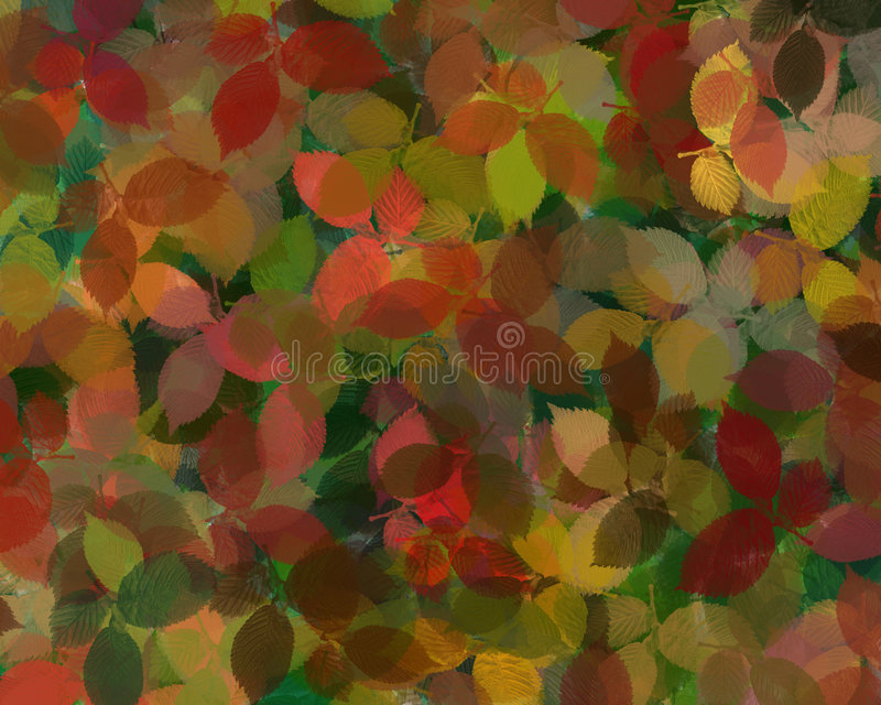 Leaf Design Background. royalty free illustration