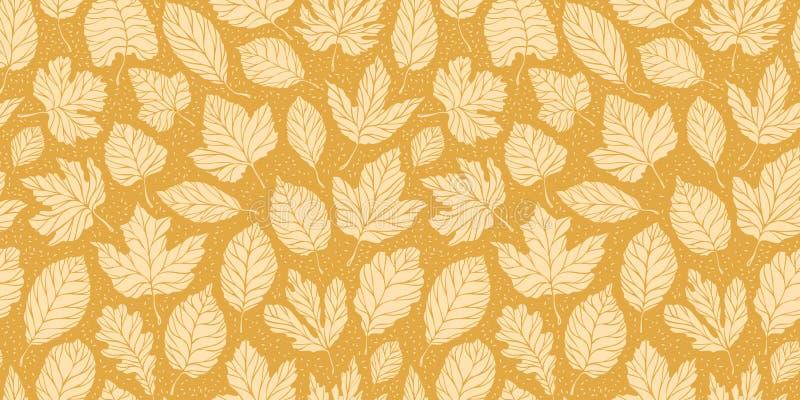 Leaf fall leaves seamless background. Autumn concept. Vector illustration. Leaf fall leaves seamless background. Autumn concept. Vector vector illustration