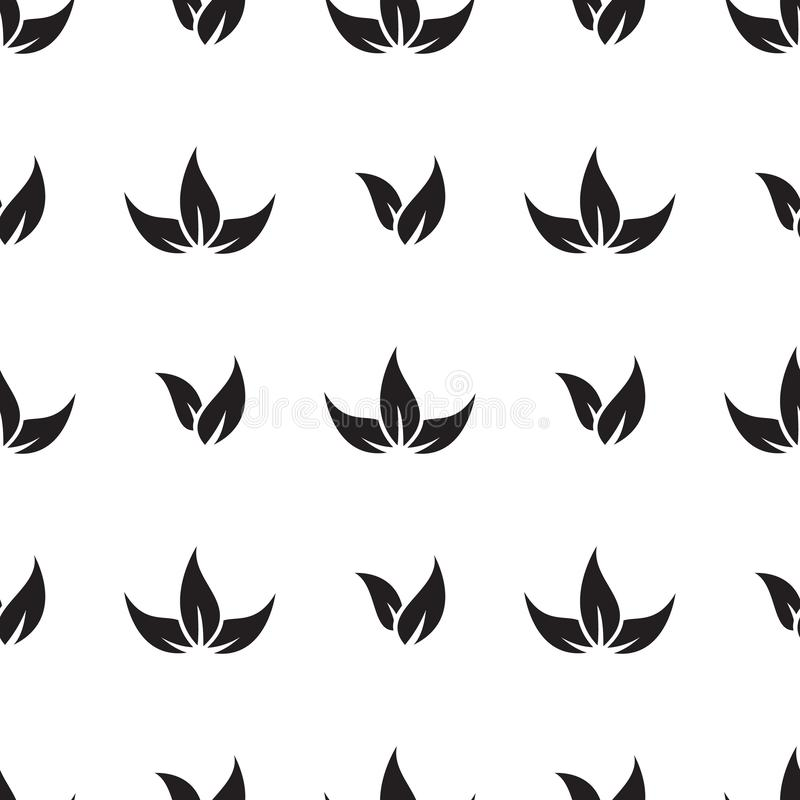 Free Leaf Flower Seamless Pattern Background Royalty Free Stock Photos - 164216878