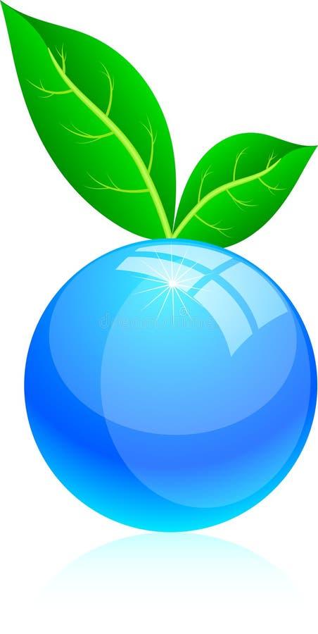 Leaf icon. vector illustration