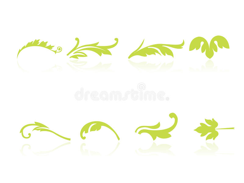 Download Leaf icons stock vector. Image of pattern, computer, environment - 12708780