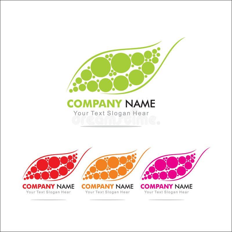 Leaf. Lief Logo Design Template vector illustration