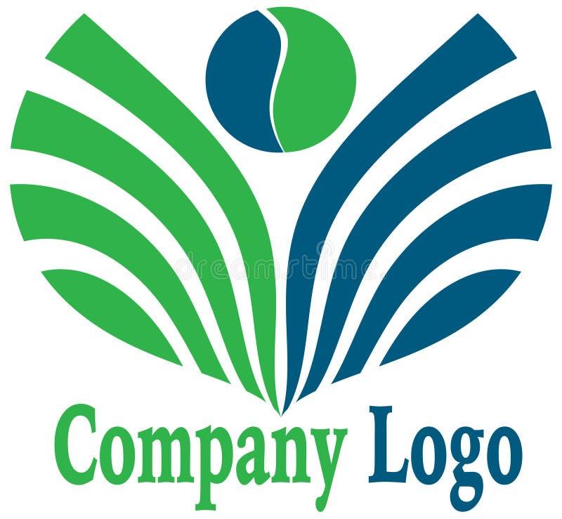Leaf logo stock image