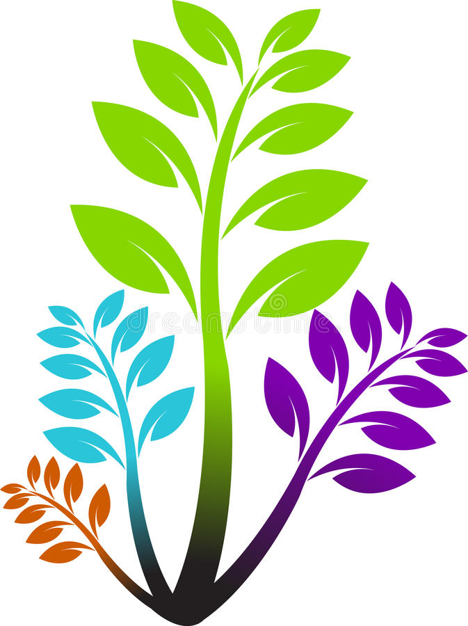 Download Leaf logo stock vector. Image of leafy, graphic, element - 22285242