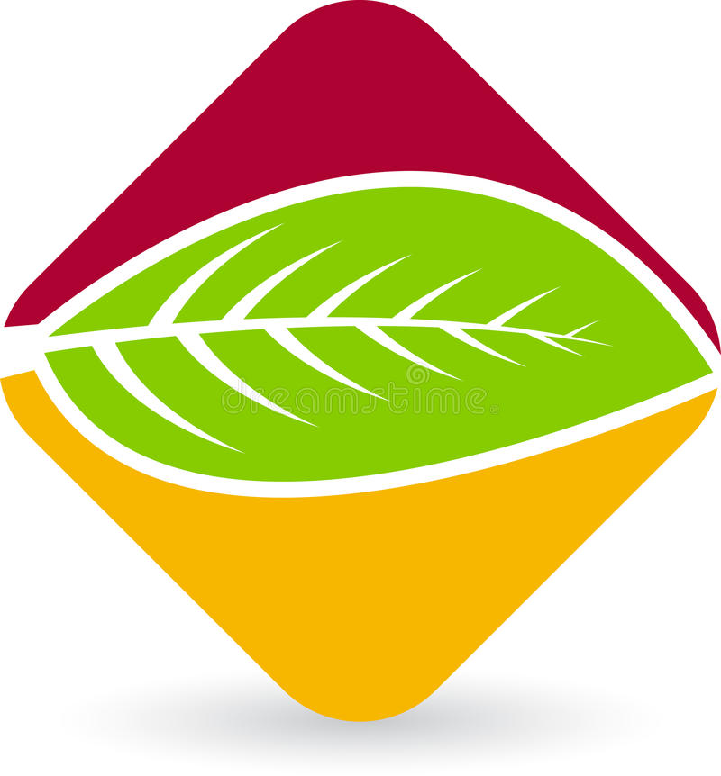 Download Leaf Logo Stock Photo - Image: 24213300
